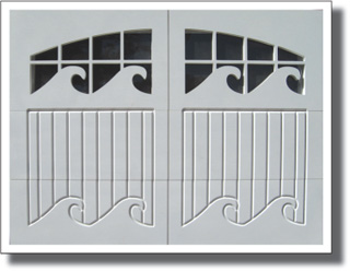 Custom Designed Garage Doors Available